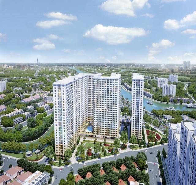 Diamond Riverside đã bàn giao căn hộ, biệt thự, Shop House vào tháng 12 năm 2020