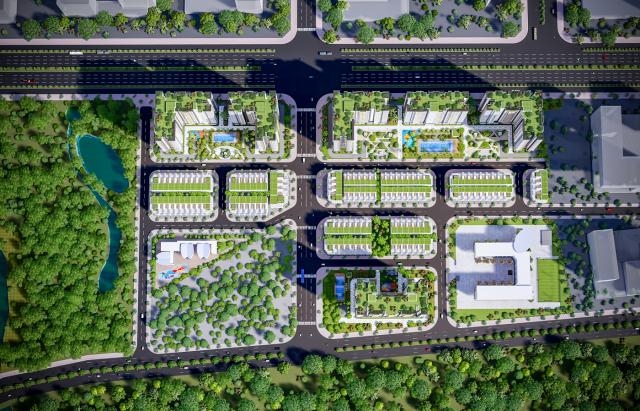 Khu phức hợp căn hộ City Gate 5 (NBB 2 ) quận Bình Chánh